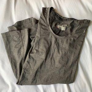 Grey Under Armour Running Shirt